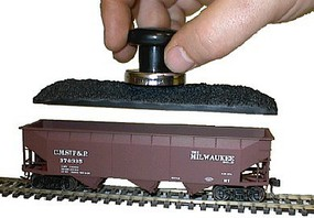 Accurail Coal Load 3-Bay Hopper (48) HO Scale Model Train Freight Car Load #353