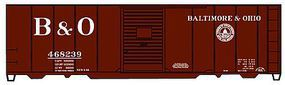 Accurail 40 AAR Single Door Boxcar Baltimore & Ohio HO Scale Model Train Freight Car #3548