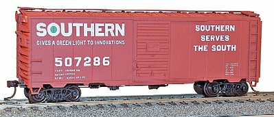 Accurail HO Southern 40' AAR Steel Boxcar
