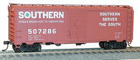 Accurail 40 Steel Boxcar Southern HO Scale Model Train Freight Car Kit #35579