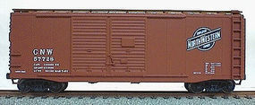 Accurail 40 Double-Door Boxcar Kit Chicago & North Western HO Scale Model Train Freight Car #3612
