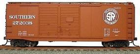 Accurail 40 AAR Double-Door Boxcar - Kit (Plastic) - Southern HO Scale Model Train Freight Car #3619