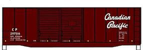 Accurail 40 Double-Door Boxcar - Kit - Canadian Pacific #297516 HO Scale Model Train Freight Car #3633