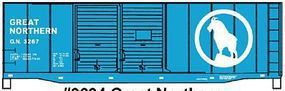 Accurail 40 Double-Door Boxcar - Kit - Great Northern #3267 HO Scale Model Train Freight Car #3634