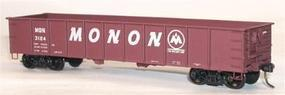 41' Steel Gondola - Kit (Plastic) - Monon HO Scale Model Train Freight Car #3727