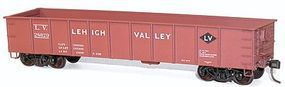 Accurail 41 Steel Gondola - Kit (Plastic) - Lehgh Valley #28560 HO Scale Model Train Freight Car #3746