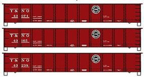 41' Steel Gondola 3-Pack Kit Southern Pacific T&NO HO Scale Model Train Freight Car #37494