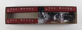 Accurail 41' Steel Gondola 3-Pack Kit Great Northern HO Scale Model Train Freight Car #37504