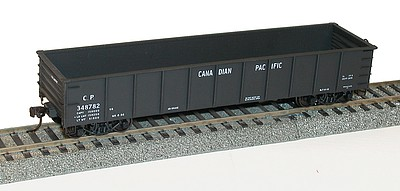 Accurail AAR 41 Steel Gondola Kit Canadian Pacific HO Scale Model Train Freight Car #3763