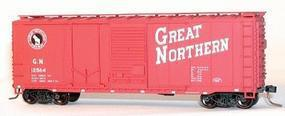 Accurail 40 Combination Door Steel Boxcar Kit Great Northern HO Scale Model Train Freight Car #3801