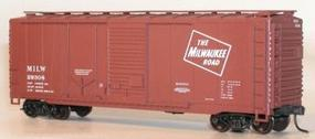 Accurail 40 Combination Door Steel Boxcar Kit Milwaukee Road HO Scale Model Train Freight Car #3804