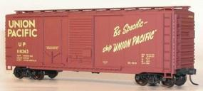 Accurail 40 Combination Door Steel Boxcar Kit Union Pacific HO Scale Model Train Freight Car #3805