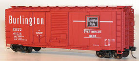 Accurail 40 Combo Door Steel Boxcar CB&Q HO Scale Model Train Freight Car #3808