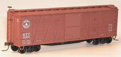 Accurail 8-Panel Wood Boxcar MEC HO Scale Model Train Freight Car #41089