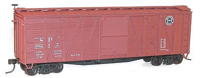 Accurail 40' Wood 8-Panel Boxcar Kit Southern Pacific #3 -- HO Scale Model Train Freight Car -- #41121