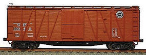 Accurail 40 Wood Outside-Braced Boxcar Kit Southern Pacific HO Scale Model Train Freight Car #4112