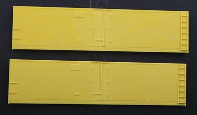 Accurail Steel Reefer Sides - Hinged-Door Version 1 Pair -- HO Scale Model Train Freight Car Part -- #423
