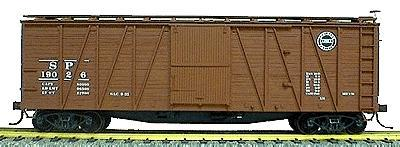 Accurail 40' Wood Outside-Braced Boxcar Southern Pacific -- HO Scale Model Train Freight Car -- #4301