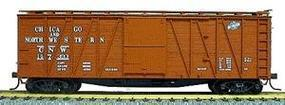 Accurail 40 Wood Outside-Braced Boxcar Chicago & North Western HO Scale Model Train Freight Car #4303