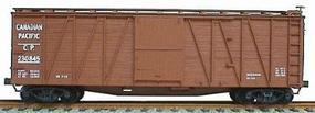 Accurail 40 Wood Outside-Braced Boxcar Kit Canadian Pacific HO Scale Model Train Freight Car #4308