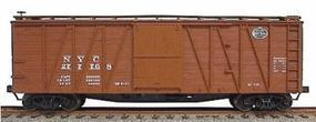 Accurail 40 Wood Outside-Braced Boxcar Kit New York Central HO Scale Model Train Freight Car #4311