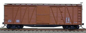 Accurail 40 Wood Outside-Braced Boxcar Kit Data Only HO Scale Model Train Freight Car #4398