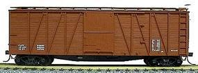 Accurail 40 Wood Outside-Braced Boxcar Kit Data Only HO Scale Model Train Freight Car #4399
