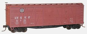 Accurail 40 Wood Outside-Braced Boxcar Kit Santa Fe #12935 HO Scale Model Train Freight Car #45012