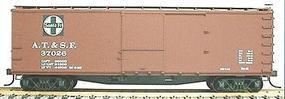 Accurail 40 Double-Sheathed Wood Boxcar Kit Santa Fe HO Scale Model Train Freight Car #4601