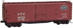 Accurail 40 Double-Sheathed Wood Boxcar Kit New York Central HO Scale Model Train Freight Car #4606