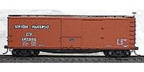 Accurail 40 Double-Sheathed Wood Boxcar Kit Union Pacific HO Scale Model Train Freight Car #4613