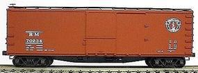 Accurail 40 Double-Sheathed Wood Boxcar Kit Boston & Maine HO Scale Model Train Freight Car #4617