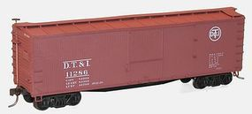 Accurail 40 Double Sheath Wood Boxcar Detroit Toledo & Ironton HO Scale Model Train Freight Car #4638