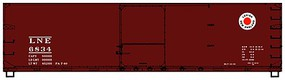 Accurail 40' USRA Double-Sheathed Boxcar Lehigh & New England HO Scale Model Train Freight Car #4643
