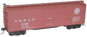 Accurail HO KIT 40 USRA Wood Double Sheathed Box, D&RGW