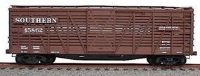 Accurail 40 Wood Stock Car - Kit (Plastic) - Southern HO Scale Model Train Freight Car #4719