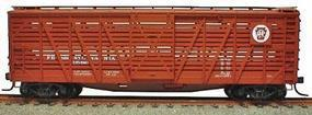 Accurail 40 Wood Stock Car Pennsylvainia RR HO Scale Model Train Freight Car #4722
