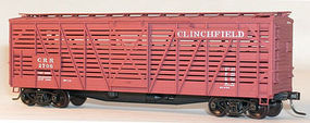 Accurail Clinchfield 40 Wood Stock Car HO Scale Model Train Freight Car #4727