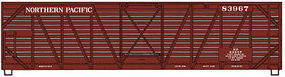 Accurail 40 Wood Stock Car Kit Northern Pacific #83967 HO Scale Model Train Freight Car #47301
