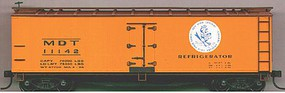 Accurail 40 Wood Reefer - Plastic Kit - New York Central HO Scale Model Train Freight Car #4810