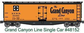 Accurail 40 Wood Reefer - Kit - Santa Fe #35302 HO Scale Model Train Freight Car #48152