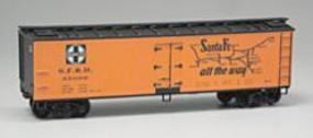 Accurail Santa Fe Grand Canyon Line 40 Wood Reefer HO Scale Model Train Freight Car #4815