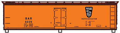 Accurail 40 Wood Reefer BAR HO Scale Model Train Freight Car #48302