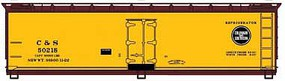 Accurail 40 Wd Reefer, C&S #50218