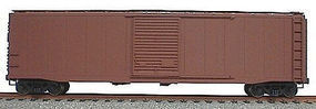 Accurail 50' Single-Door Riveted-Side Boxcar Kit Undecorated HO Scale Model Train Freight Car #5000