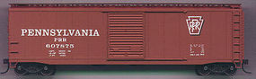 Accurail Pennsylvania 50 AAR Riveted Boxcar Kit Pennsylvania HO Scale Model Train Freight Car #5006
