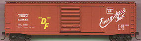 Accurail 50 AAR Riveted Boxcar C,B,&Q HO Scale Model Train Freight Car #5008
