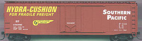 Accurail 50 AAR Plug Door Riveted Boxcar Kit Southern Pacific HO Scale Model Train Freight Car #5105