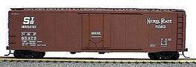 Accurail 50 Plug-Door Riveted Boxcar Kit Nickel Plate Road HO Scale Model Train Freight Car #5106