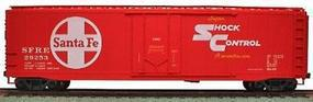 Accurail 50 AAR Plug Door Riveted Boxcar Kit Santa Fe HO Scale Model Train Freight Car #5119